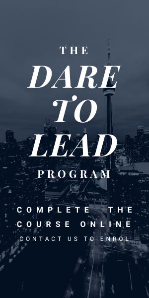 Dare to lead program